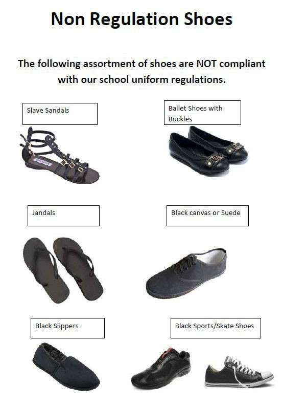 Non Regulation Shoes