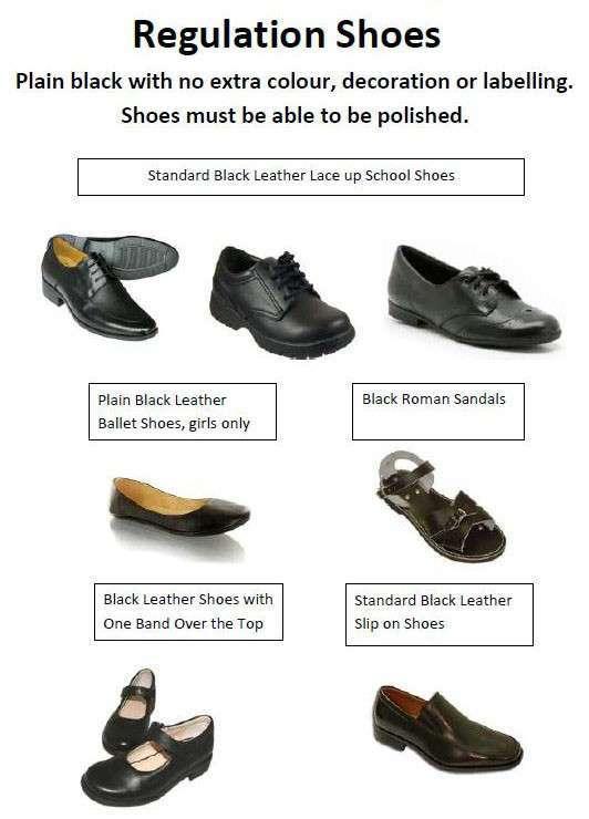 Regulation Shoes