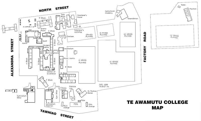 School Layout Map