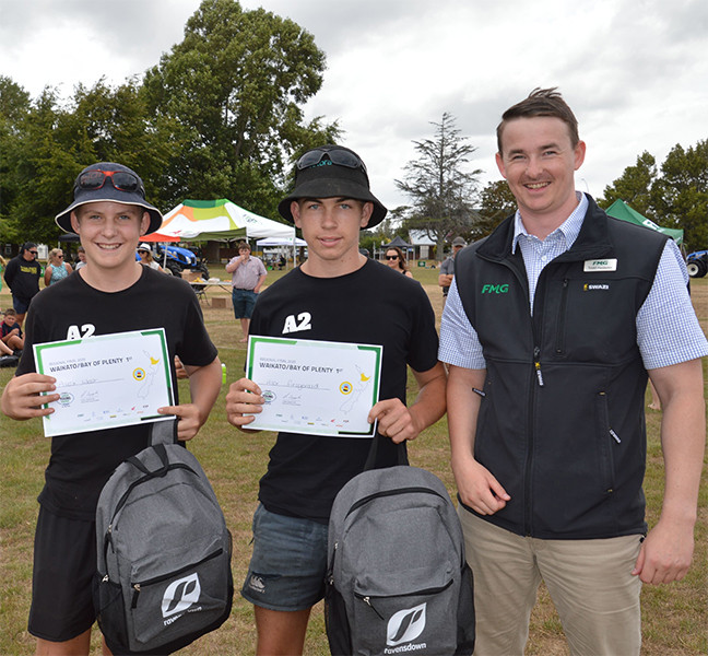 Young Farmer of the Year winners Alex West and Alex Fitzgerald - Recent News  -  Te Awamutu College